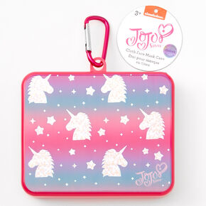 Nickelodeon™ JoJo Siwa™ Unicorn Face Mask Case - Pink,