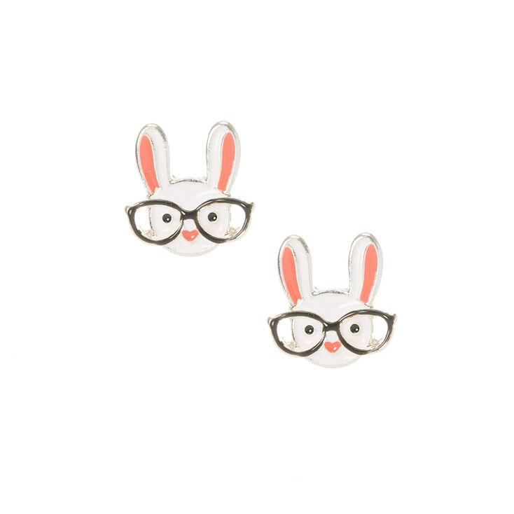Clous d'oreilles lapin intelligent,