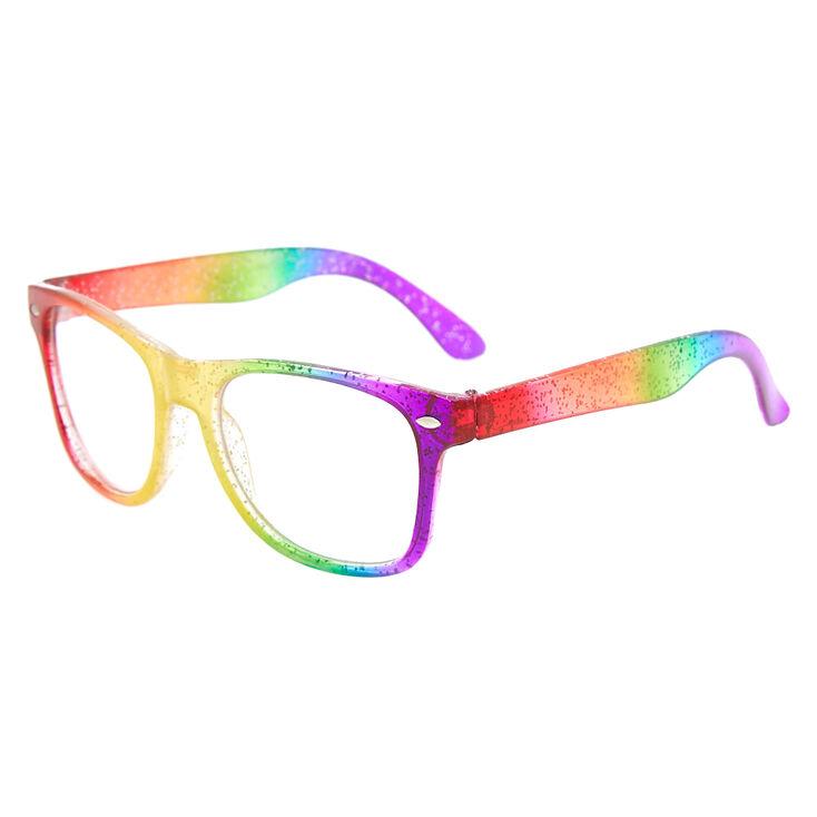71fb4963eb2d7 Monture de lunettes arc-en-ciel effet ombré du Claire s Club ...