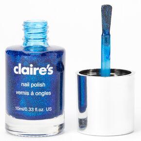 Vernis à ongles chatoyant - Bleu roi,