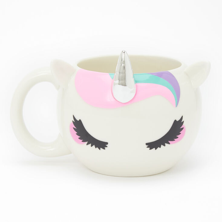 Unicorn Ceramic Mug - White,