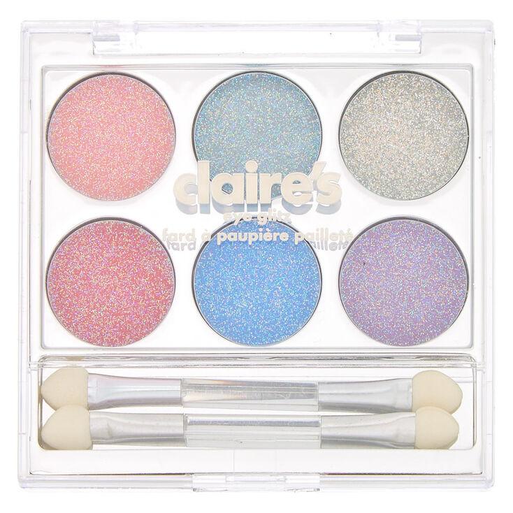 Rainbow Glitter Eye Glitz Palette,