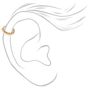 Mixed Metal 20G Mini Cartilage Hoop Earrings - 3 Pack,