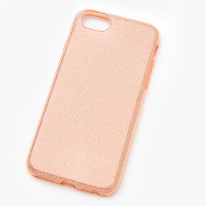 Rose Gold Glitter Phone Case - Fits iPhone 6/7/8/SE,