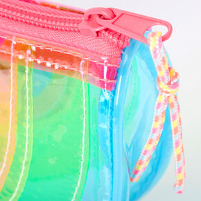 Neon Transparent Watermelon Makeup Bag,