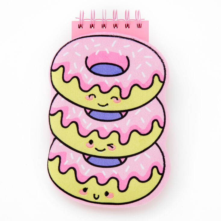 Stack of Donuts Squish Notebook - Pink,