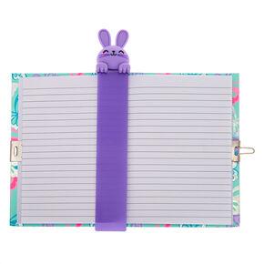 e9825c0f2cb Bella The Bunny Popover Bookmark Lock Diary - Purple