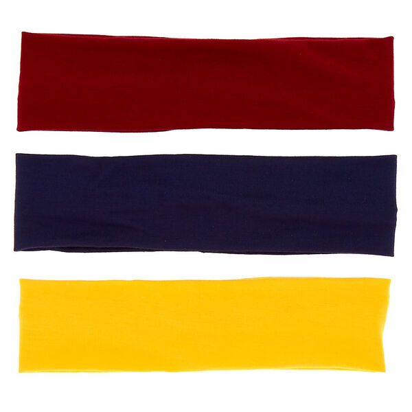 Claire's - school colours wide headwraps - 2