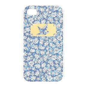 Blue Ditsy Phone Case,