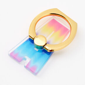 Ombre Initial Ring Stand - A,