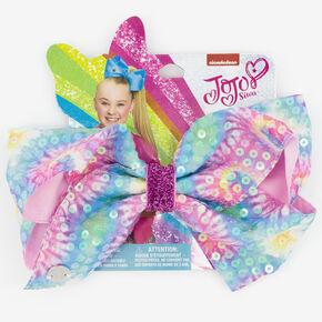 Nœud pour cheveux à sequins tie-dye JoJo Siwa™,