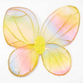 Glitter Rainbow Butterfly Dress Up Set - 3 Pack,
