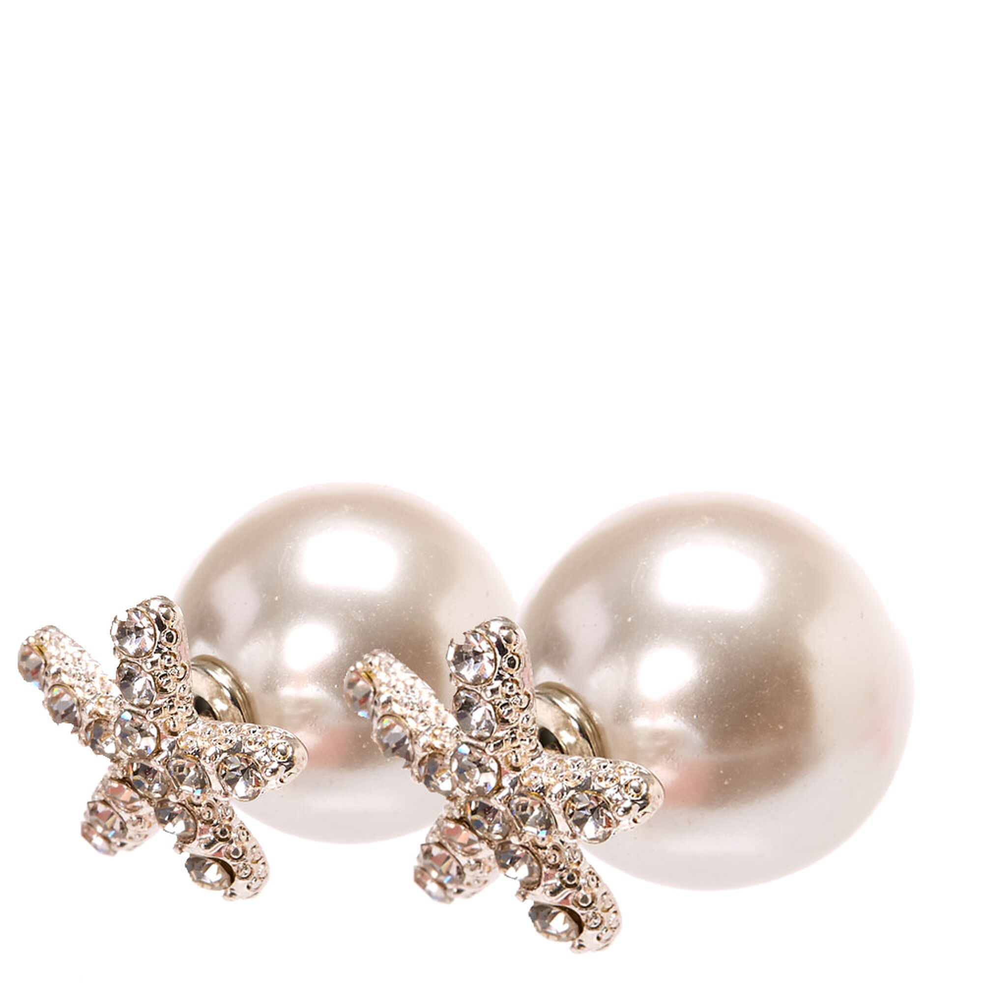 products faux pearl realreal earrings the jewelry stud chanel enlarged cc