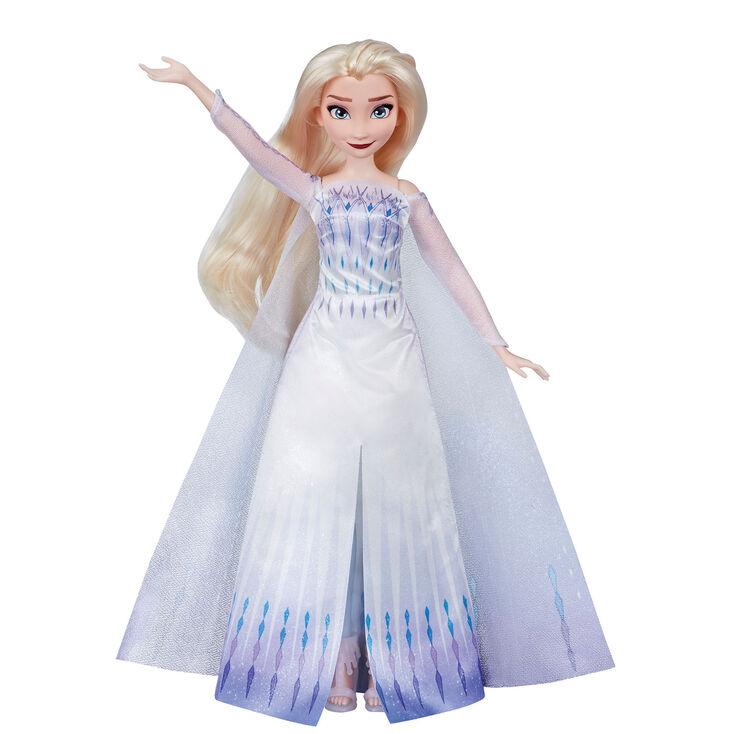 ©Disney Frozen 2 Musical Adventure Elsa Singing Doll – Blue,
