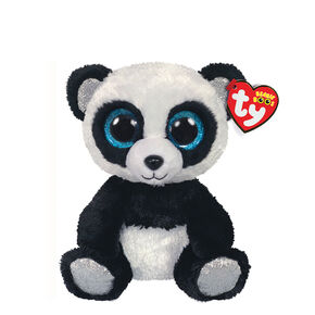Ty Beanie Boo Small Bamboo the Panda Plush Toy,