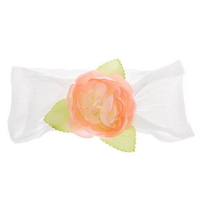 Claire's Club Flower Girl Headwrap,