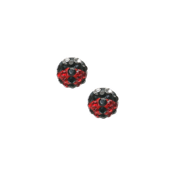 Claire's - sterling ladybug stud earrings - 1