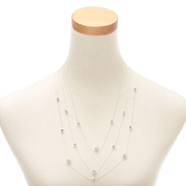 Claire's - ball multi strand necklace - 2