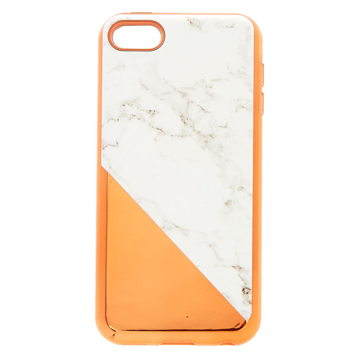 sports shoes a6587 dab69 Rose Gold & Marble Protective iPod® Touch Case