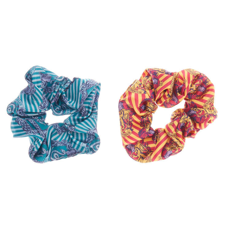Harry Potter, Gryffindor & Slytherin Hair Scrunchies,