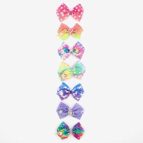 Mini nœuds pour cheveux 7jours JoJo Siwa™ - Lot de 7,