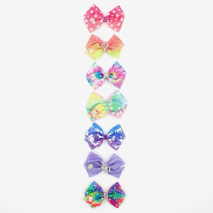 JoJo Siwa™ 7 Days Mini Hair Bows - 7 Pack,