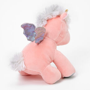 Claire's Club Fancy Flyer Unicorn Plush Toy - Small,