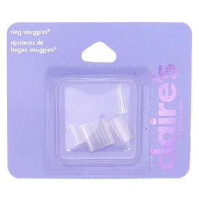 Ring Snuggies - Clear, 5 Pack,
