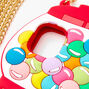 Gumball Machine Silicone Phone Case with Gold Chain - Fits iPhone 11,