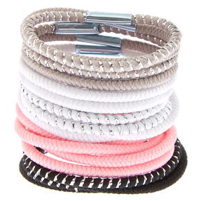 Claire's Club Mini Hair Ties - 18 Pack,