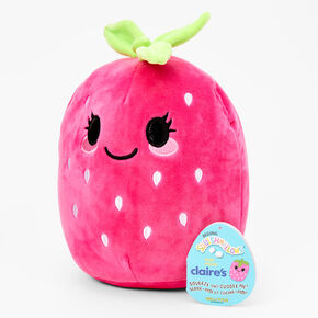 """Squishmallows™ 8"""" Claire's Exclusive Strawberry Plush Toy,"""