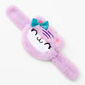 Cat Slap Wristlet - Purple,