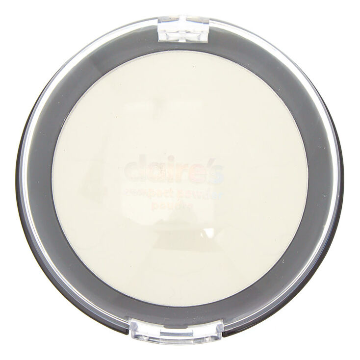 Halloween Goth Compact Powder - White,