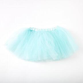 Claire's Club Glitter Tutu - Turquoise,