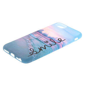 Smile Sunset Beach Phone Case - Fits iPhone 6/7/8/SE,