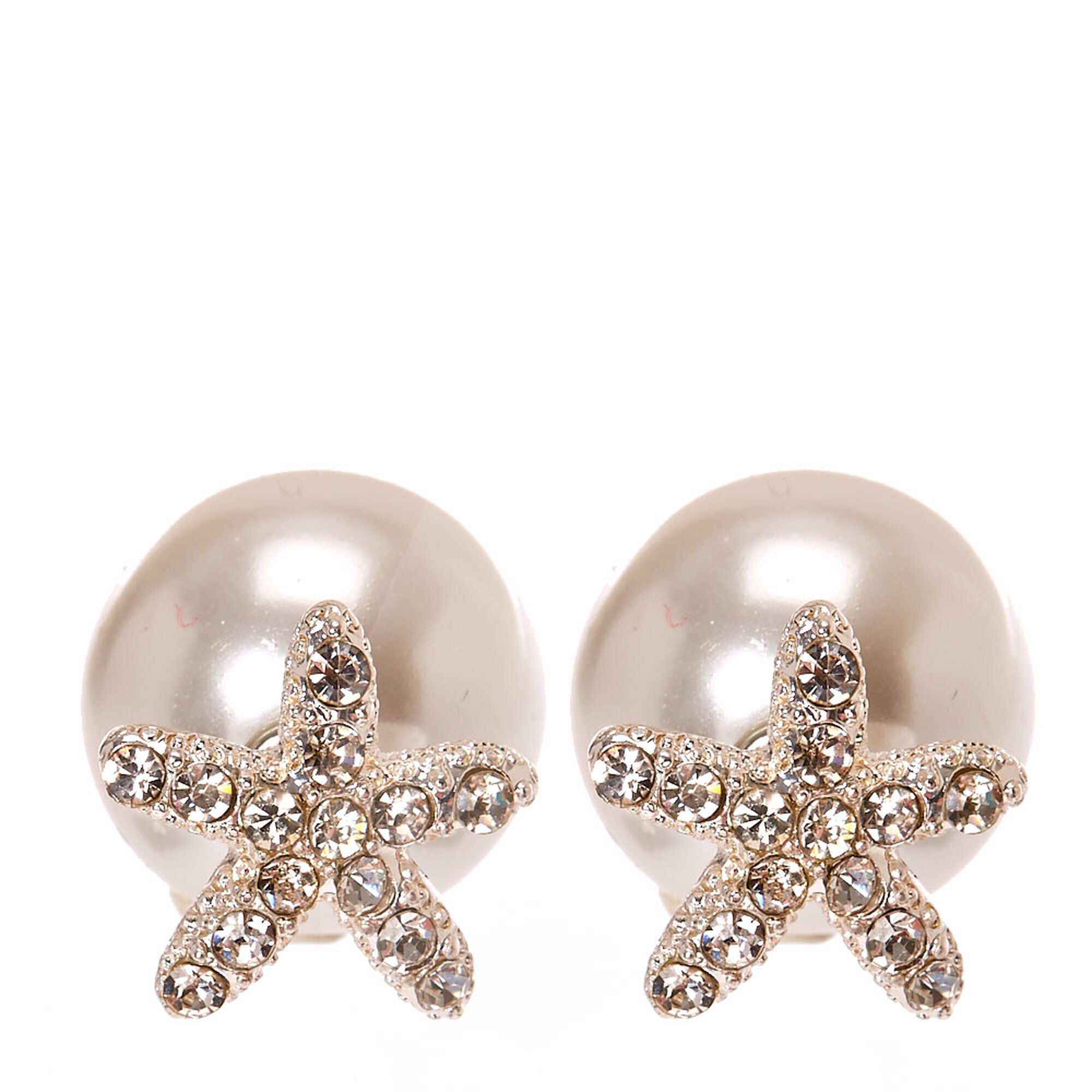 pink drop white stud pearl ralph lauren pony by yourforgiven earrings fake in faux lyst