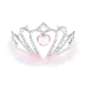 Claire's Club Princess Tiara - Pink,