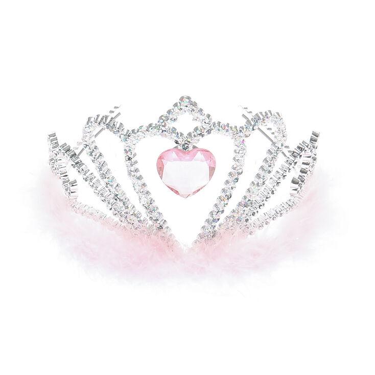 Claire's Club Princess Tiara - Pink,