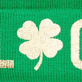 Lucky Shamrock Beanie - Green,