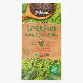 7th Heaven Superfood Matcha & Chia Face Mask,