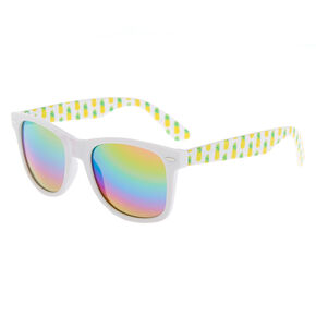 Pineapple Retro Sunglasses - White,