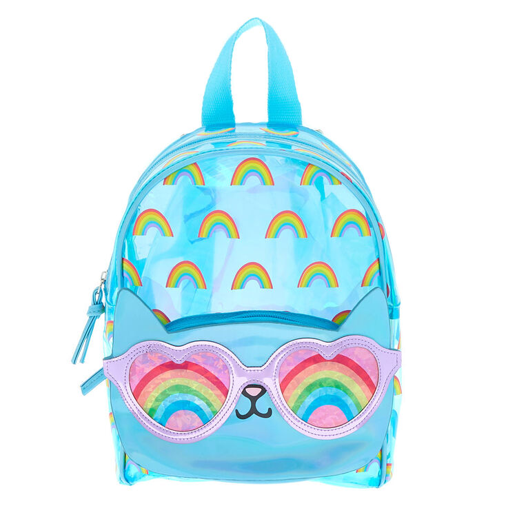 91039b1c4e3 Cam the Cat Holographic Mini Backpack