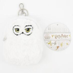 Porte-clés mini sac à dos doux Hedwig Harry Potter™ - Blanc,