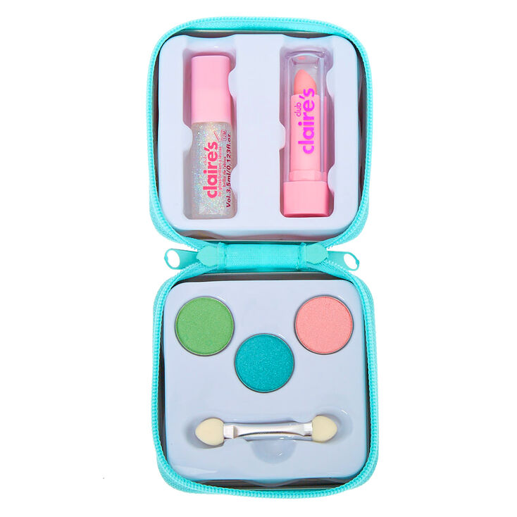 Claire's Club Miss Glitter the Unicorn Mini Makeup Set - Mint,