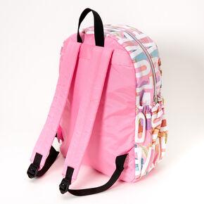 Love Floral Large Backpack - Pink,