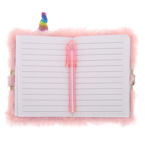 Claire's Club Caticorn Lock Diary - Pink,