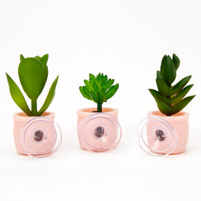 Mini Faux Succulent Set - 3 Pack,