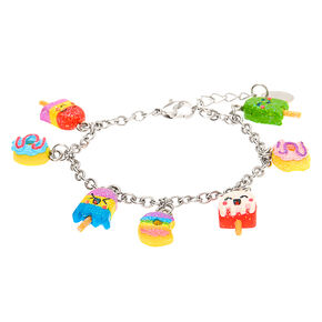 Rainbow Sweet Treats Charm Bracelet,