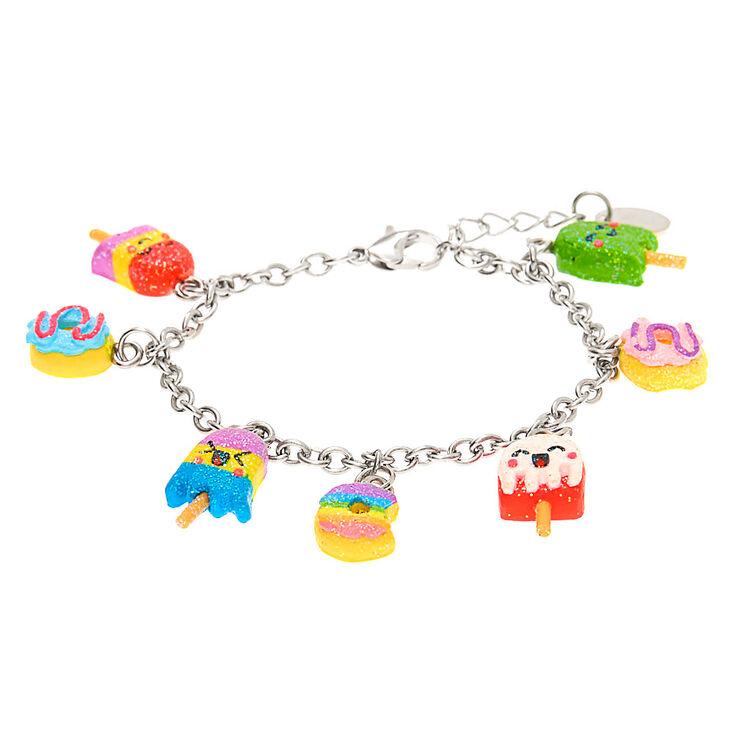 Rainbow Sweet Treats Charm Bracelet,