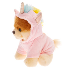 Boo The World's Cutest Dog™ Large Unicorn Boo Soft Toy – Pink,